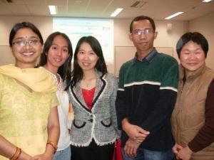 With Prof. Ha